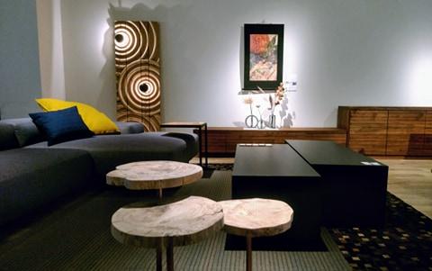 リビングテーブルとサイドテーブルの組み合わせ例